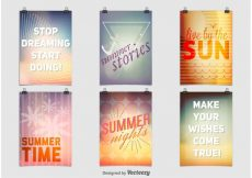 Free vector Summer Party Posters #23411