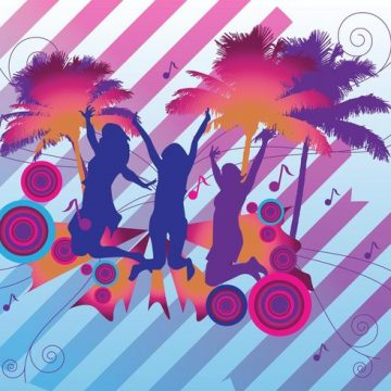 Free vector Tropical Party #23591